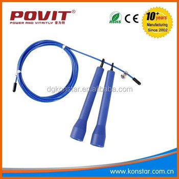 2015 high quality adjustable cable jump rope