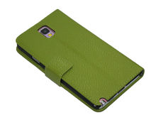 Genuine Real Leather Case For Samsung Galaxy Note 3 N9000 Cover Book Wallet Stand Holder.
