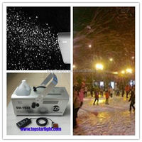 promotion sales on 1500w snow cannon machine