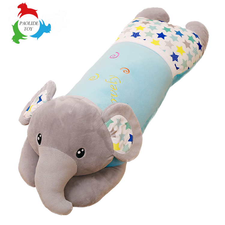 Long Nose Elephant Plush Toy Pillows Stuffed Baby Cushions