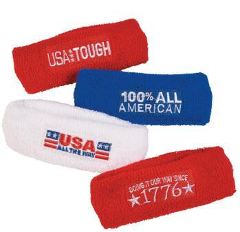 Patriotic Sweat Headbands