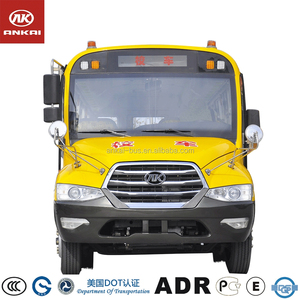 Ankai School bus model shaped cardboard display