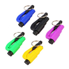 High Quality 1pc Keychain Car Emergency Rescue Safety Glass Breaker Hammer Escape Tool Newest#