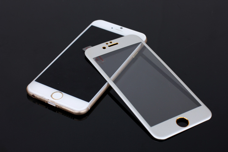 Slim Glass Tempered For Iphone 6s for iphone 6 plus for iphone 6 100% Fit 3D Glass Screen Protector