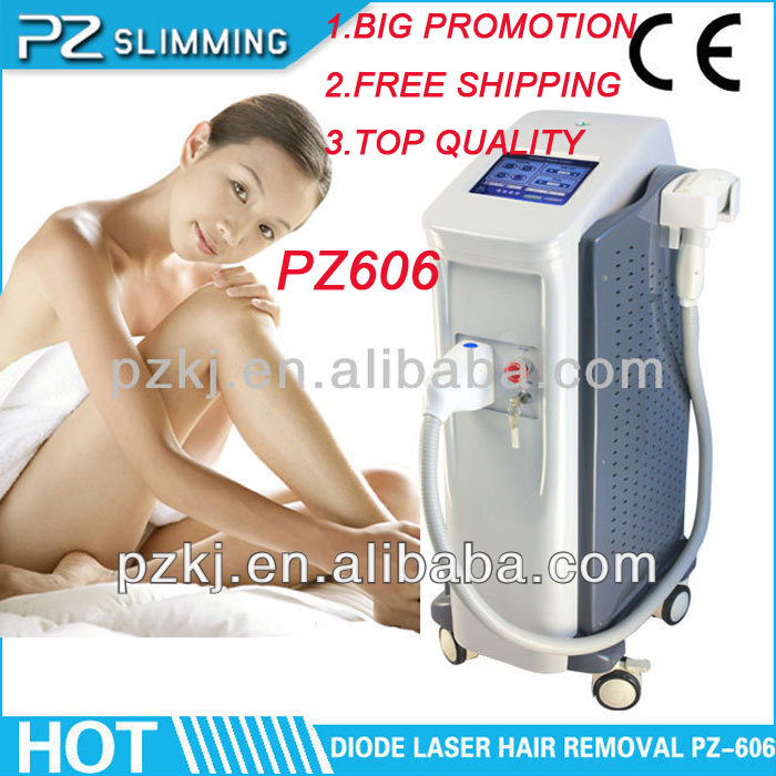 2014 best quality performance stability lightsheer laser hair removal machine for sale PZ606