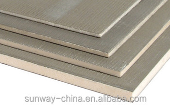 reinforced board good price with high quality- Fiberglass mesh+cement XPS tile backer board