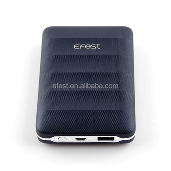 New Product Efest EMP30 Battery Power Bank Mobile USB Charger Portable Power Bank 12000mah