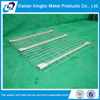 Warehouse Stacking wire decking flexible wire mesh hanging divider