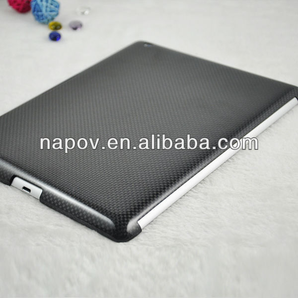 100% real carbon fiber laptop case for ipad 4