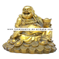 Bronze Fabulous Hong Tze Collection frog in the lucky buddha ,money frog ,chinese buddha statue