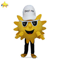 Funtoys CE funny Sun cartoon mascot customize costumes with fan