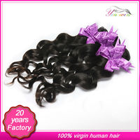 Direct hair factory price brazilian hair remy loose curl weave