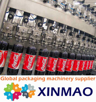 Hot sales glass bottle beer carbonated drink filling machine india small glass bottle