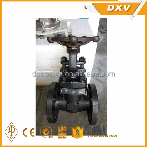 A105N body 13Cr trim integral flange forge gate valve