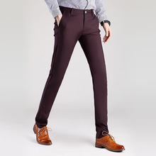 TE15 new men 's casual pants men' s elastic trousers Korean version of the small trousers men 's trousers 623 models