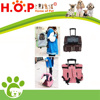 Travel Pet Dog Cat Carrier Stroller Rolling Back Pack Luggage Trolley Bag