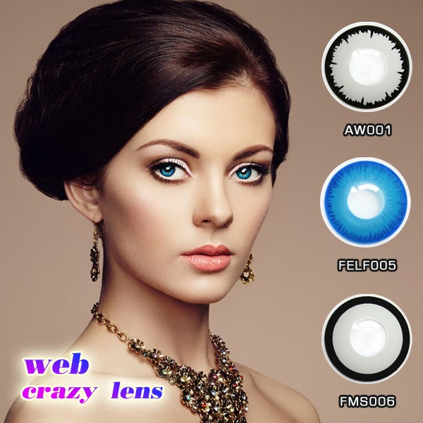 fancy design halloween cosplay contacts crazy contact lens soft lens