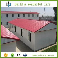 Exporting to Africa prefab buildings portable house for worker dormitory