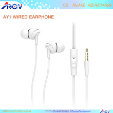 Wholesale Colorful promotional cartoon candy earphones for chatting online, music, movie
