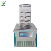 CE & ISO approved high efficiency Laboratory Table Top Type mini vacuum freeze dryer TOPT-10A for food fruti and vegetable
