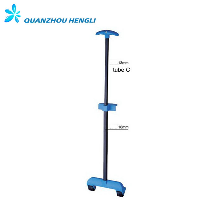 luggage telescopic trolley single handle parts