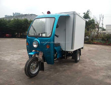 China Fctory Price 1.8 Meter Length Container Carriage175cc Air Cool Engine Cargo Tricycle on Sale