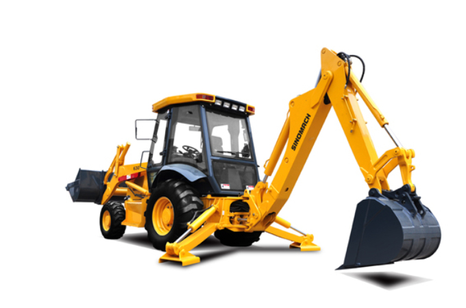 SINOMACH Backhoe wheel LOADER mini small micro excavator tractor loader 630