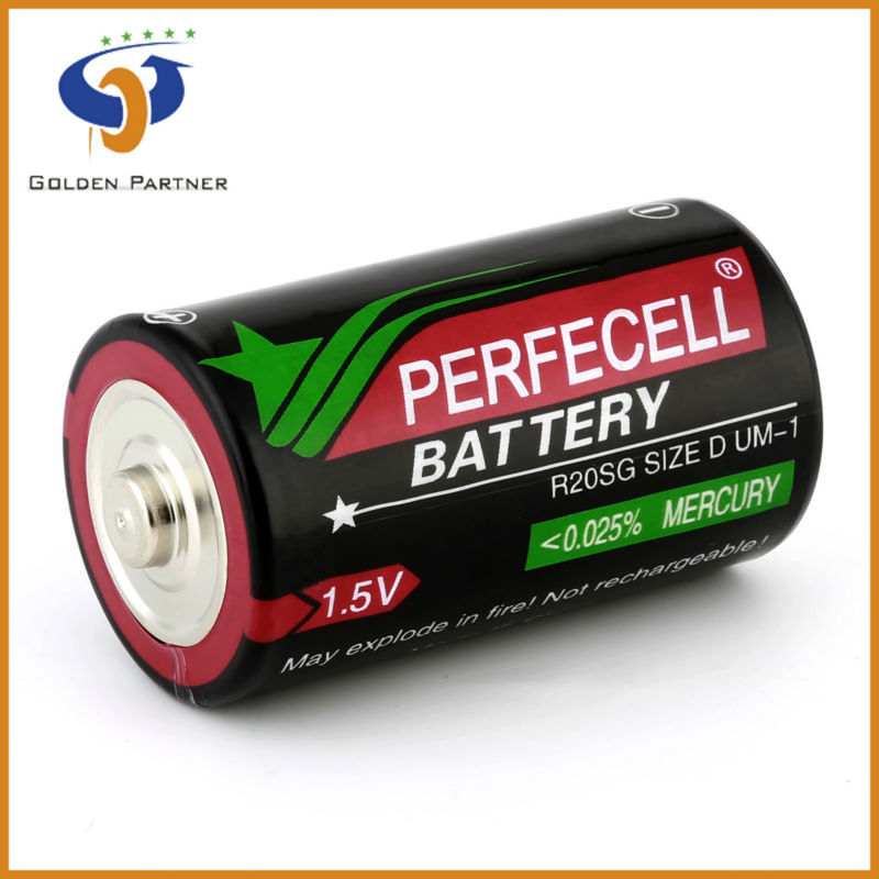 Attractive out looking d size perfecell max part battery