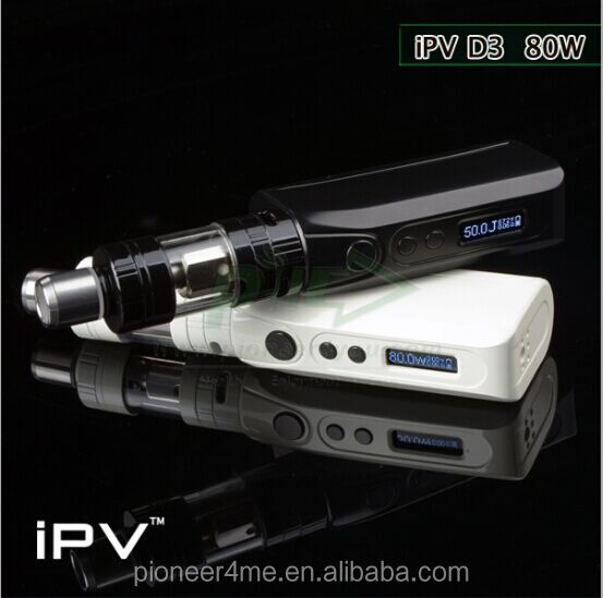 pioneer4you iPV D3 80w TC box mod better than iPV D2, magnet cover iPV D3