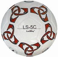 Brilliant PU leather and surface size 5 soccer ball