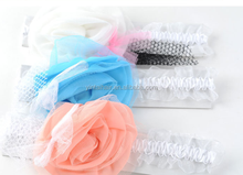 2015 Kids Girl Baby Toddler Lace Flower Headband Hair Band Accessories Headwear