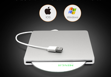 Super Slim 9.5mm USB 3.0 External aluminium DVD-RW/CD-RW Burner Recorder Optical Drive CD DVD Writer support