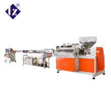 LXSJ55 PP PE drinking straw plastic making extruder machine