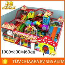 New Design fitness indoor playground indoor naugty castle attractions for children