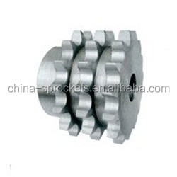 triplex chain sprocket three chain wheel