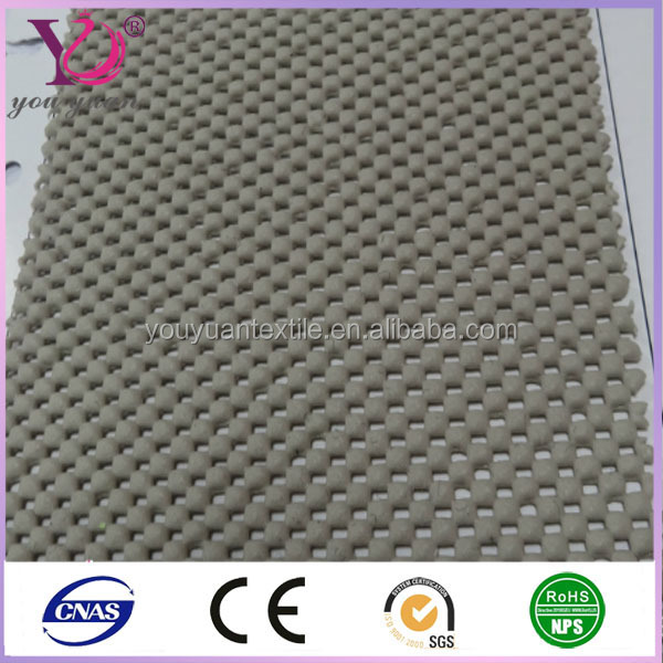 PVC high quality polyester mesh fabic used in inflatable beach mats
