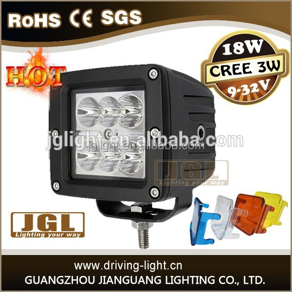 2015 new18w led work light 4 x 4 led light bar offroad waterproof led car light made in China alibaba