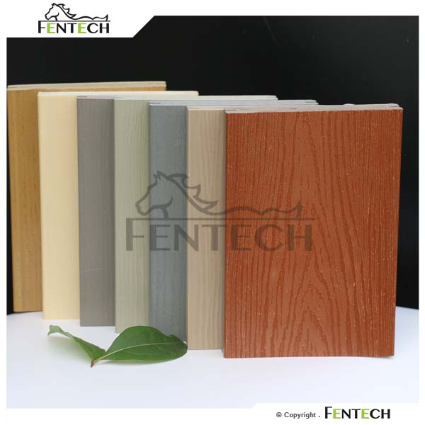 Wood Grain Outdoor Plastic Flooring Pvc Flooring, 100 % Pvc Decking