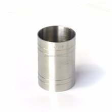 2017 New style bar product stainless steel 50ml measuring cup free sample