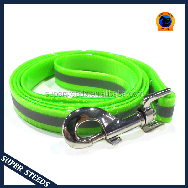 waterproof and durable reflective dog leash 1.5meter long made in TPU