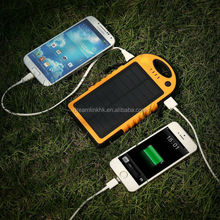 2015 new Rohs certified 12000mAh Giant USB Port solar powered cell phone charger for mobile phone for outdoor hiking