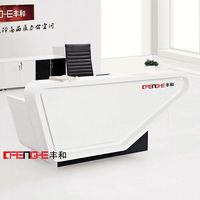 High quality Office corian reception desk