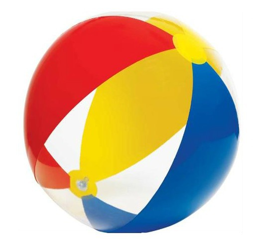 free shipping transparent three color best beach balls wholesale large inflatable ball inflatable jumpers inflatable beach balls