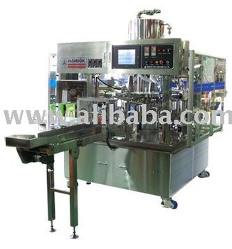 Rotary fill seal packing machine (single lane)