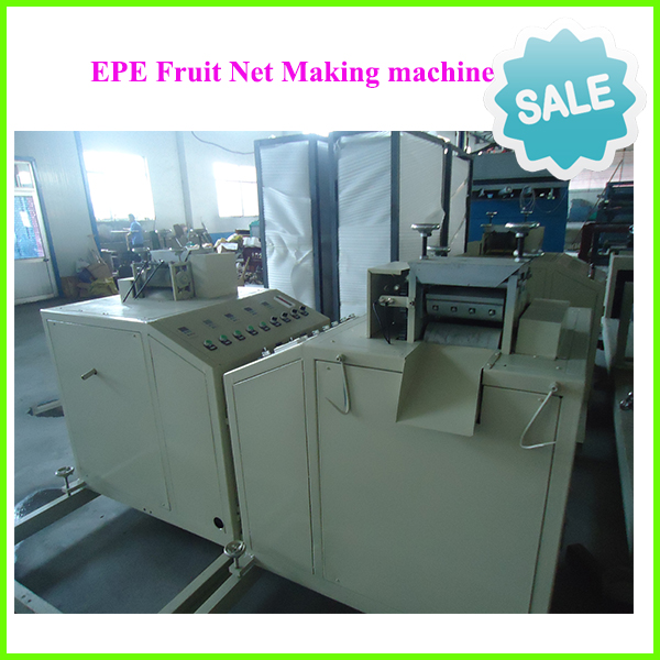 polyurethane Foam fruit vegertable net foaming machinery-pe foam fruit net making machine
