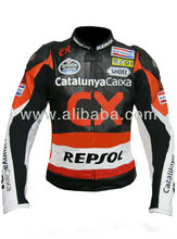 CX REPSOL RACING LEATHER JACKET