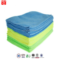 easy washing and quick drying embossed microfiber cleaning cloth for car cleaning