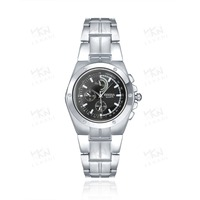 Stainless steel simple band watch, Chain watch factory supply