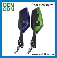 Factory direct motorcycle body parts back mirror
