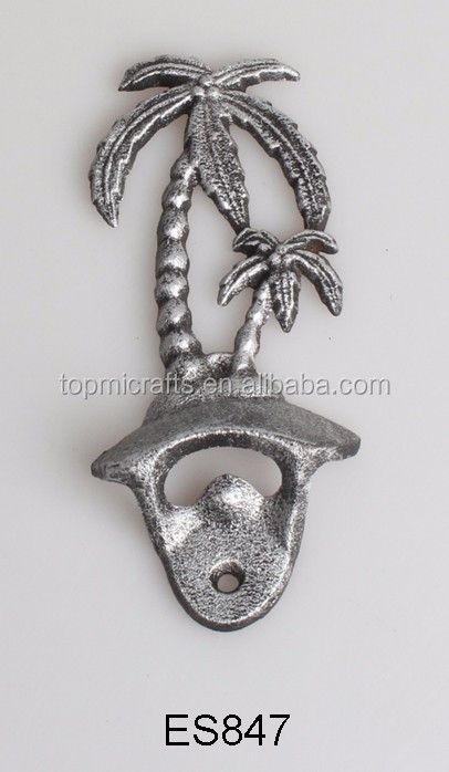 cast iron opener with bird design